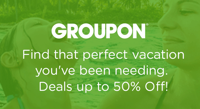 $0.00 for Groupon - Take a Trip (expiring on Monday, 03/01/2021). Offer available at Groupon.
