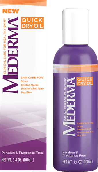 $3.00 for Mederma® Quick Dry Oil. Offer available at Target, Walmart, Walgreens, CVS Pharmacy, Rite Aid.