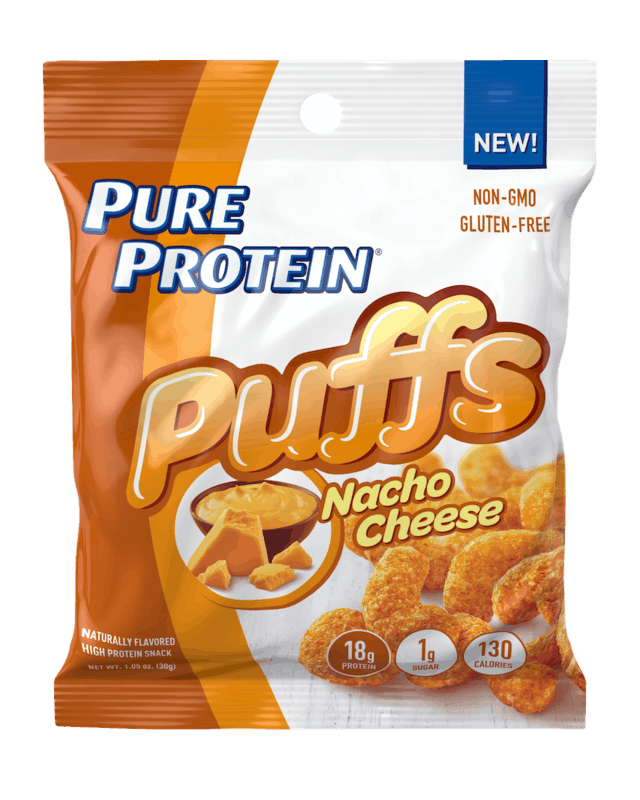$1.00 for Pure Protein Puffs. Offer available at Walmart, Walmart Pickup & Delivery.