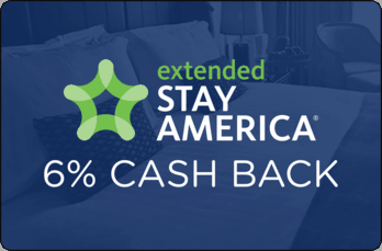 $0.00 for Extended Stay America (expiring on Friday, 05/03/2019). Offer available at Extended Stay America.