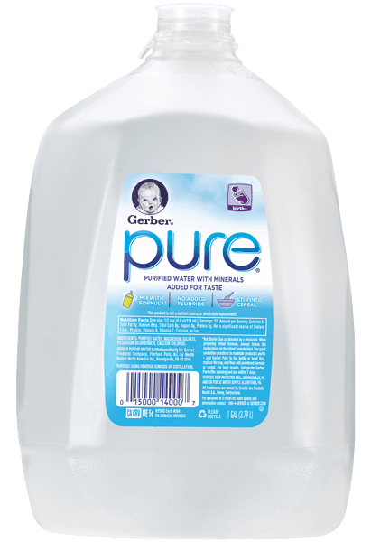 $0.50 for Gerber® Pure® Water (expiring on Tuesday, 10/31/2017). Offer available at Walmart.
