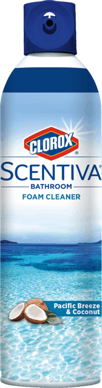 $1.00 for Clorox® Scentiva™ Bathroom Foam Cleaner (expiring on Monday, 09/02/2019). Offer available at Walmart.