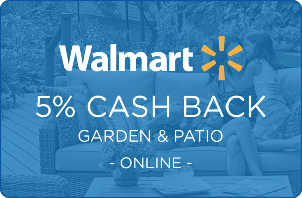 $0.00 for Walmart.com Garden & Patio (expiring on Wednesday, 04/01/2020). Offer available at Walmart.com.