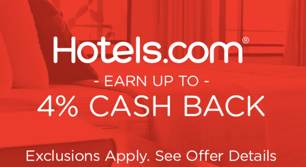 $0.00 for Hotels.com (expiring on Wednesday, 10/02/2019). Offer available at Hotels.com.
