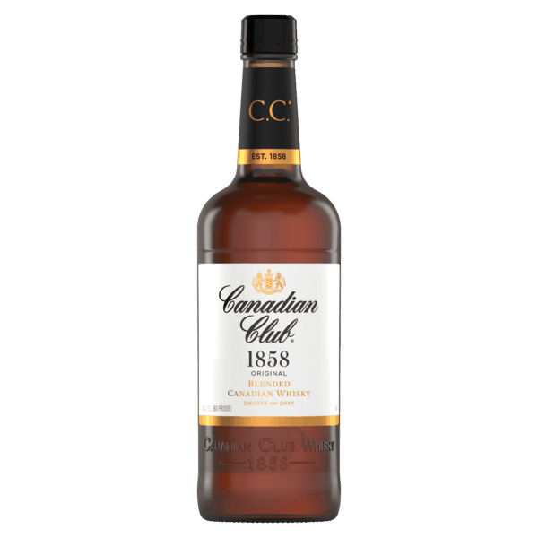 $2.00 for Canadian Club Blended Canadian Whisky. Offer available at multiple stores.