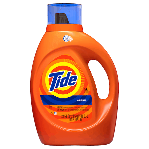$3.00 for Tide® Liquid Detergent. Offer available at Walmart.