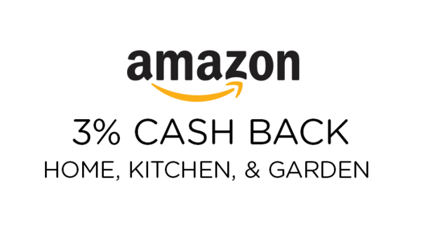 $0.00 for Amazon Home, Kitchen, & Garden (expiring on Tuesday, 04/30/2019). Offer available at Amazon.