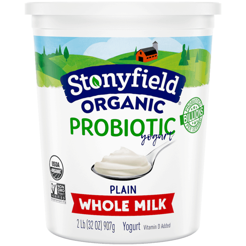 $1.00 for Stonyfield® Organic 32oz Yogurt (expiring on Monday, 09/02/2019). Offer available at multiple stores.