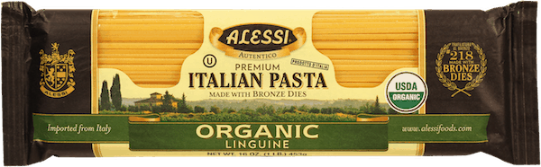 $0.75 for Alessi Organic Linguine (expiring on Monday, 02/10/2020). Offer available at multiple stores.