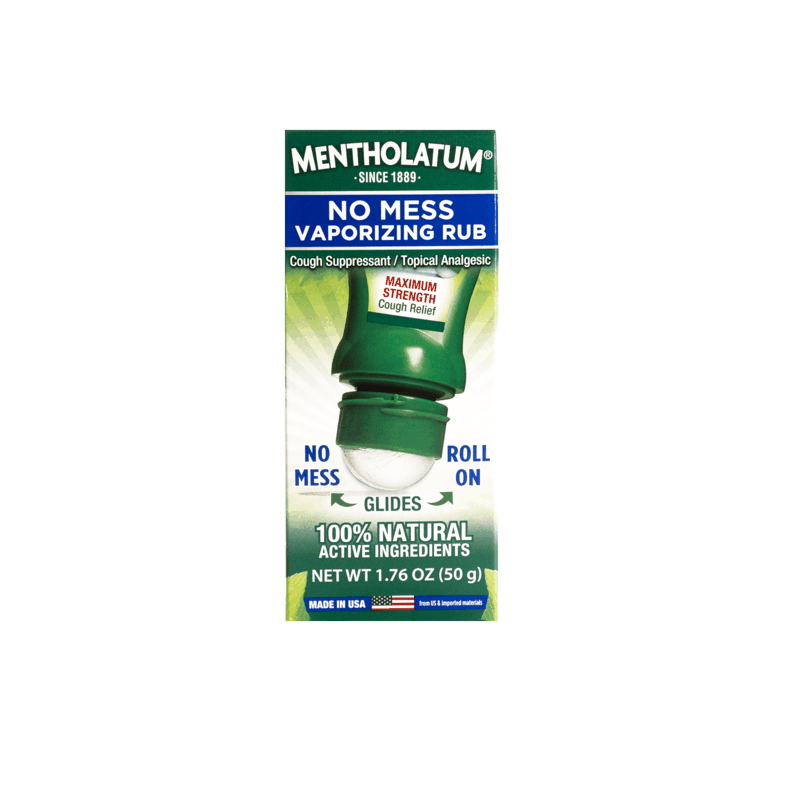 $1.00 for Mentholatum No Mess Vaporizing Chest Rub Max Strength (expiring on Sunday, 03/01/2020). Offer available at Publix, Giant Eagle, Meijer, Hy-Vee, Save Mart (Food Giant).