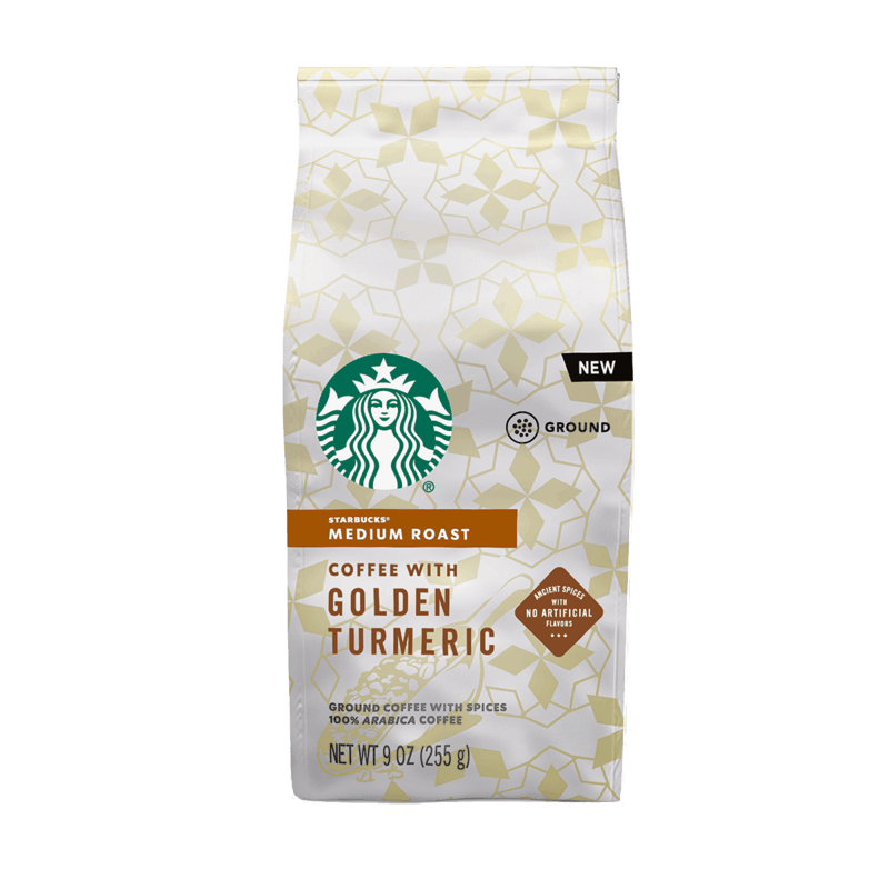 $2.00 for Starbucks Ground Coffee with Golden Turmeric (expiring on Wednesday, 09/02/2020). Offer available at multiple stores.