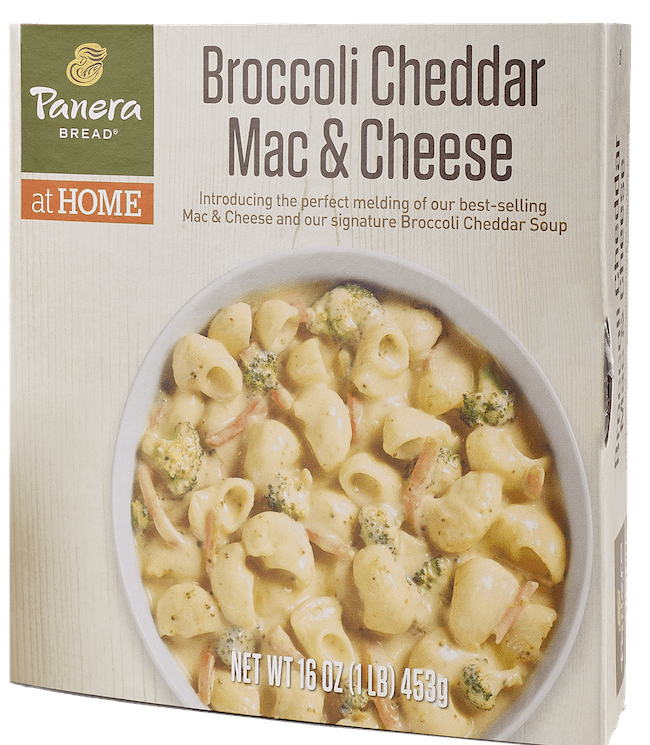 $1.00 for Panera at Home Refrigerated Broccoli Cheddar Mac & Cheese (expiring on Monday, 05/31/2021). Offer available at Safeway, Albertsons.