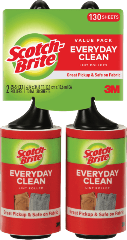 $1.00 for Scotch-Brite® Lint Rollers. Offer available at Walmart.