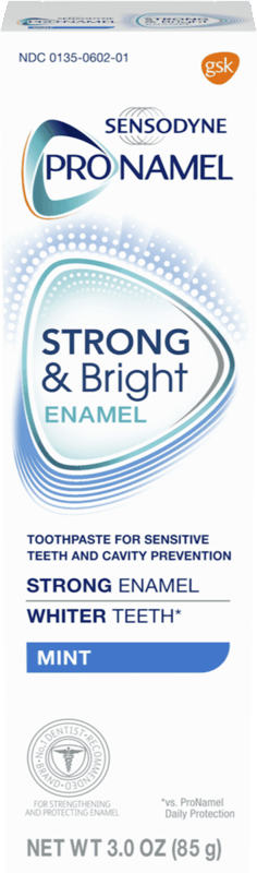 $1.50 for Pronamel® Strong & Bright Toothpaste. Offer available at Target, Walmart, Walgreens, Kroger, CVS Pharmacy.