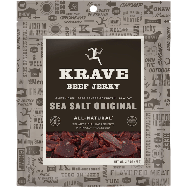 $2.00 for KRAVE Jerky. Offer available at Walmart.