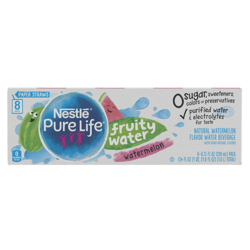 $1.50 for Nestle Pure Life Fruity Water. Offer available at multiple stores.