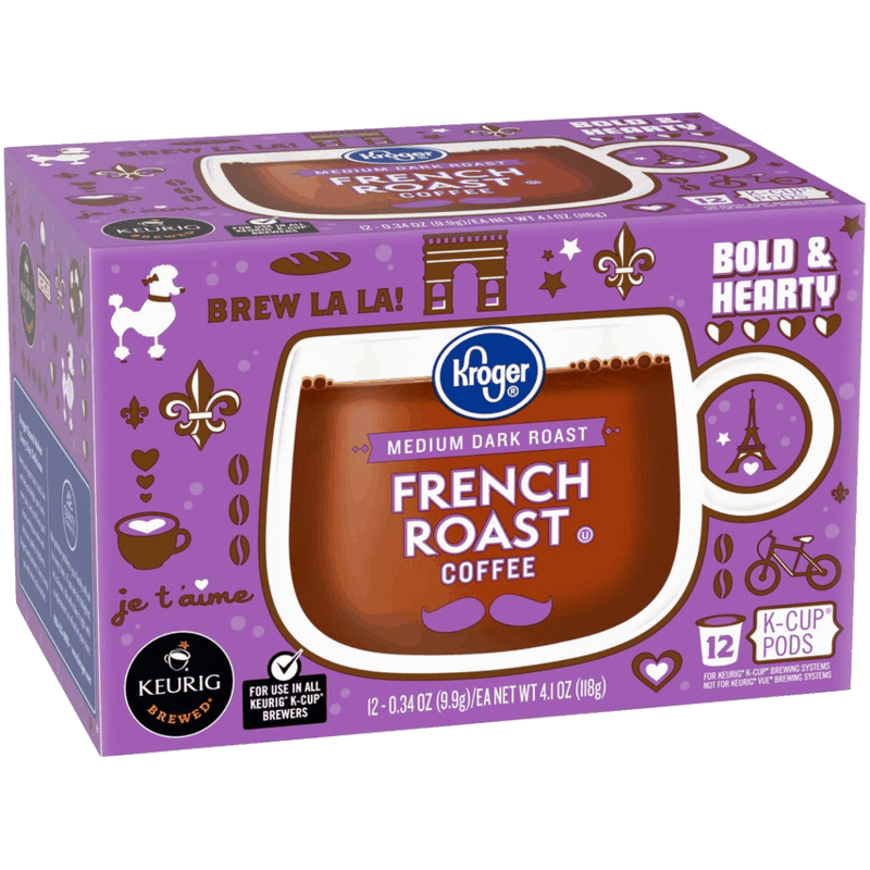 $0.75 for Kroger Coffee K-Cups (expiring on Sunday, 08/02/2020). Offer available at multiple stores.