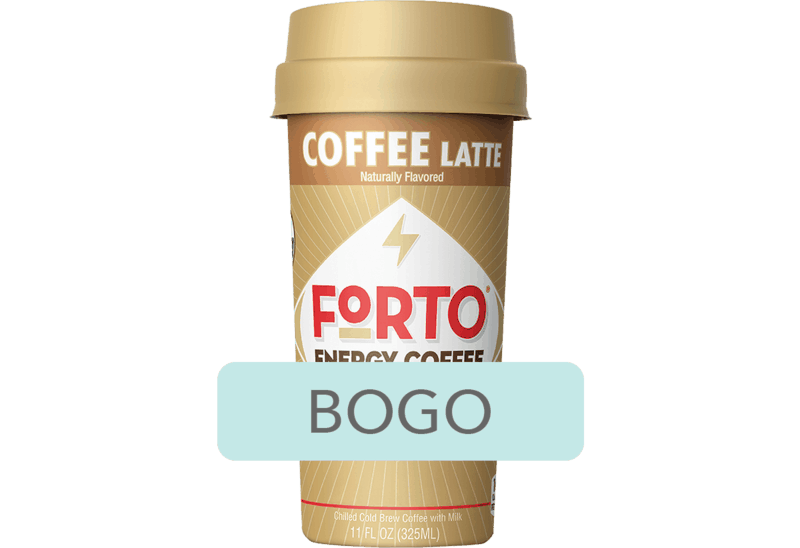 $2.50 for Forto® Energy Coffee. Offer available at Walmart.