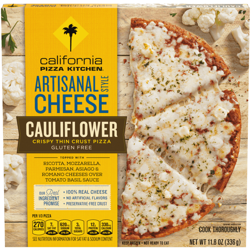 $1.50 for California Pizza Kitchen Cauliflower Crispy Thin Crust Frozen Pizza (expiring on Friday, 12/27/2019). Offer available at Publix.