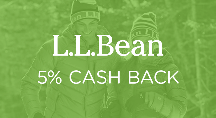 $0.00 for L.L. Bean. Offer available at L.L. Bean.