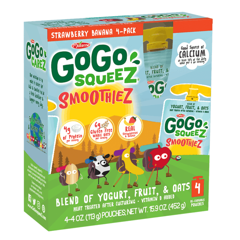 $1.50 for GoGo squeeZ® smoothieZ. Offer available at Target, Whole Foods Market, Jewel-Osco, Schnucks, Target Online.