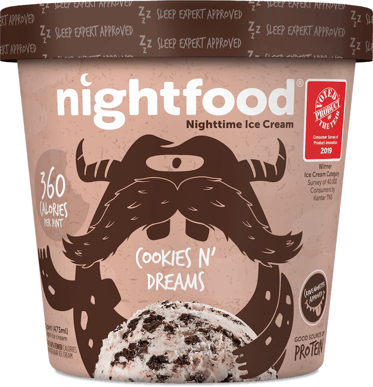 $2.00 for Nightfood® Sleep-Friendly Ice Cream (expiring on Thursday, 05/21/2020). Offer available at Meijer, Harris Teeter, Lowes Foods, Woodman's.