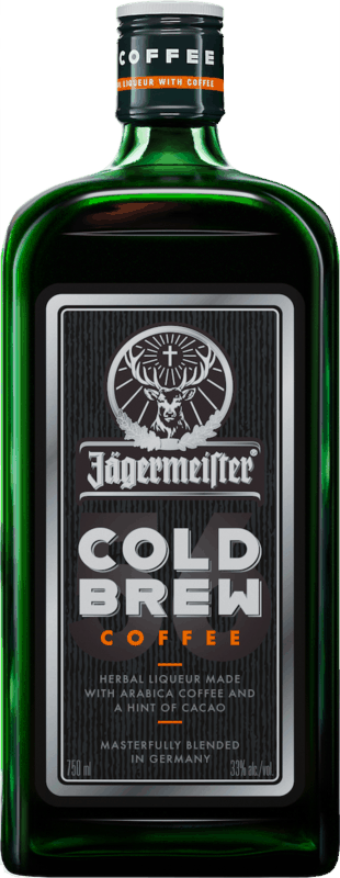 $4.00 for Jägermeister Cold Brew Coffee (expiring on Friday, 05/29/2020). Offer available at multiple stores.