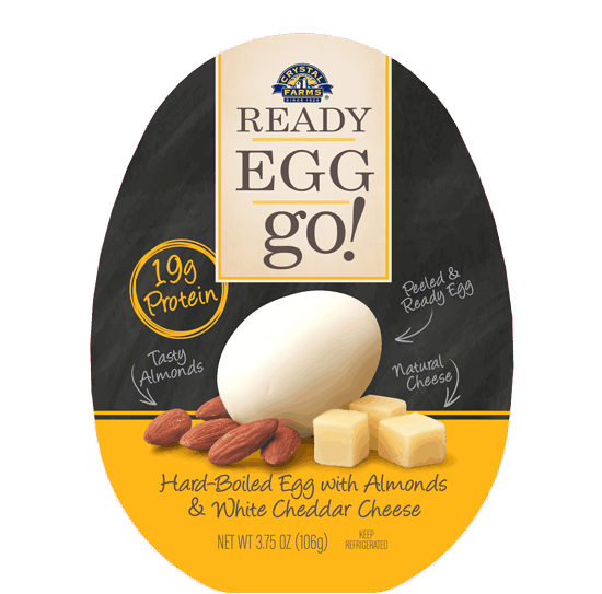 $1.00 for Crystal Farms® Ready Egg Go!. Offer available at multiple stores.