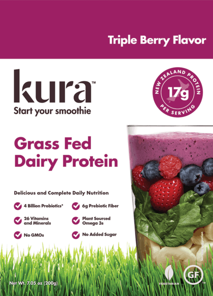 $1.00 for Kura® Protein Smoothie Powder. Offer available at Giant Eagle.