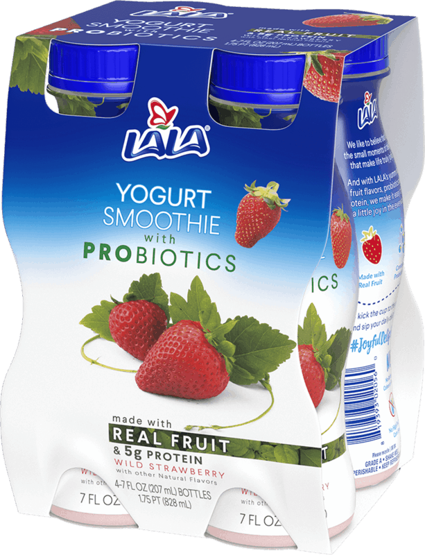 $1.50 for LALA® Smoothies. Offer available at Walmart.