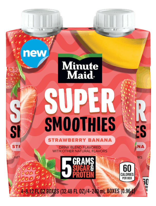 $1.00 for Minute Maid Super Smoothies (expiring on Saturday, 10/31/2020). Offer available at multiple stores.