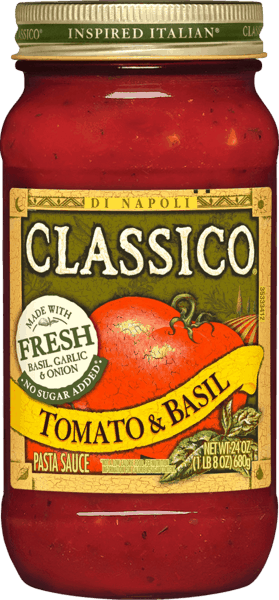 $0.50 for CLASSICO® Pasta Sauce (expiring on Thursday, 01/31/2019). Offer available at multiple stores.