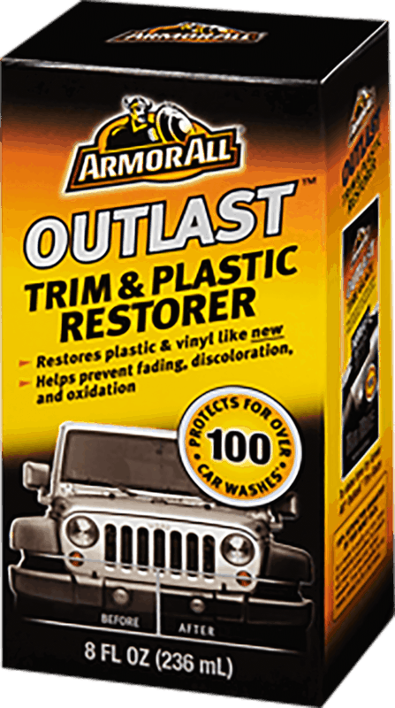 $3.00 for Armor All® Outlast™ Trim & Plastic Restorer. Offer available at Walmart.
