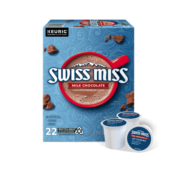 $2.00 for Swiss Miss K-Cup Pods. Offer available at multiple stores.
