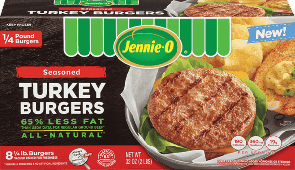 $0.70 for JENNIE-O® Frozen Turkey Burgers (expiring on Wednesday, 01/02/2019). Offer available at multiple stores.