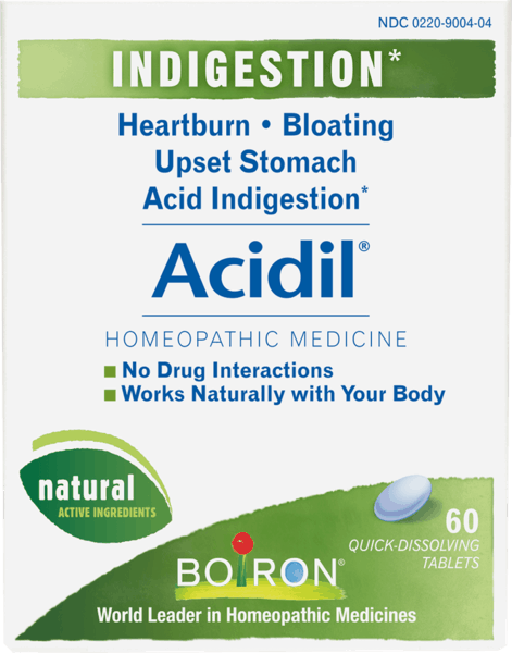 $1.00 for Boiron® Acidil® (expiring on Wednesday, 08/31/2022). Offer available at Giant Eagle, Wegmans, Whole Foods Market®, Sprouts Farmers Market, Vitamin Shoppe.