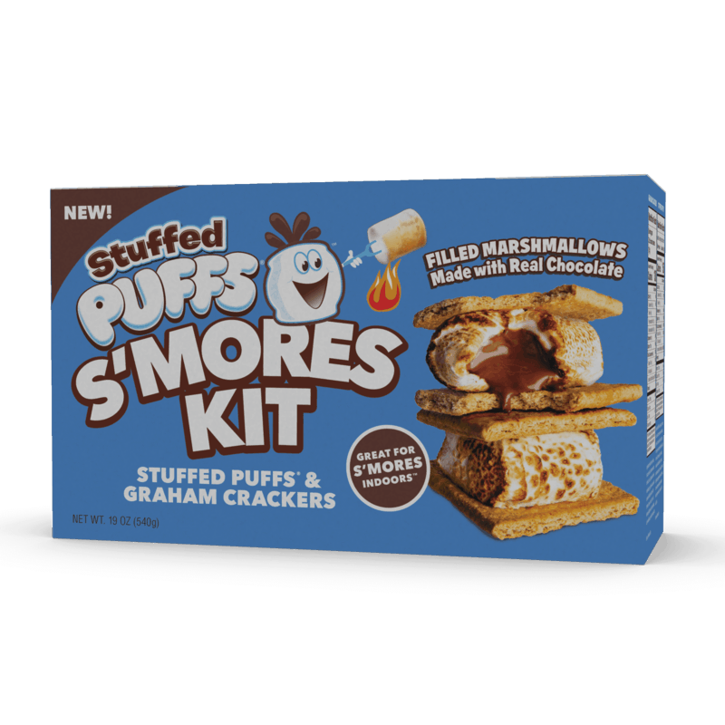 $1.00 for Stuffed Puffs™ S'mores Kit (expiring on Wednesday, 01/01/2020). Offer available at Walmart.
