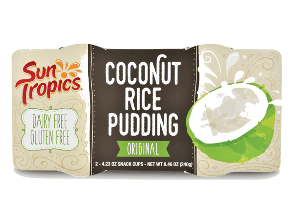 $0.75 for SunTropics Coconut Rice Pudding (expiring on Monday, 12/30/2019). Offer available at multiple stores.