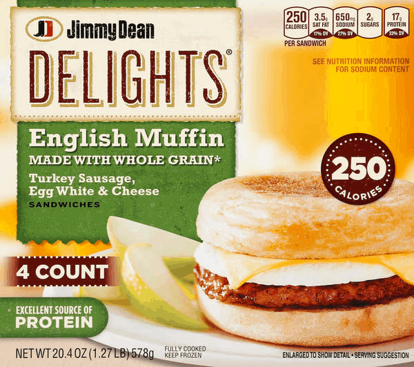 $1.00 for Jimmy Dean® Frozen Products (expiring on Sunday, 03/04/2018). Offer available at multiple stores.