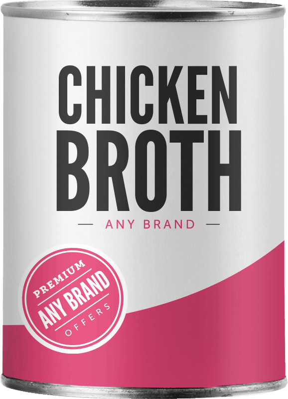 $0.25 for Chicken Broth - Any Brand (expiring on Thursday, 03/26/2020). Offer available at Walmart.