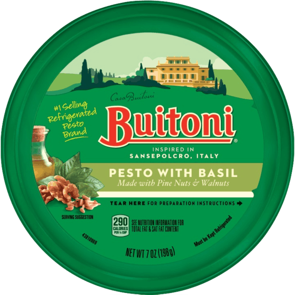 $1.00 for BUITONI® Refrigerated Sauce. Offer available at Walmart.