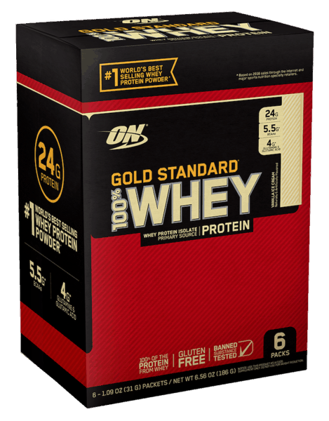 $1.00 for Optimum Nutrition® Gold Standard Whey™ Protein Powder (expiring on Sunday, 09/02/2018). Offer available at Walmart.