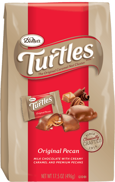 $2.50 for DeMet's TURTLES®. Offer available at Walmart.