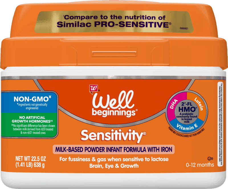 $4.00 for Well Beginnings Sensitivity Infant Formula (expiring on Friday, 03/12/2021). Offer available at Walgreens.