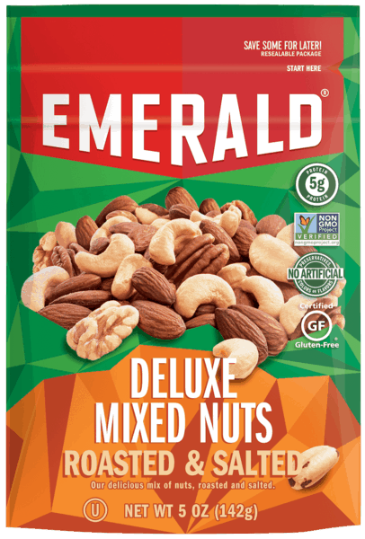 $0.50 for Emerald® Nuts (expiring on Sunday, 06/02/2019). Offer available at multiple stores.