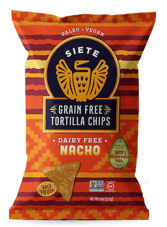 $1.00 for Siete Foods Tortilla Chips (expiring on Saturday, 10/31/2020). Offer available at multiple stores.