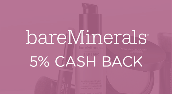 $0.00 for bareMinerals (expiring on Saturday, 02/29/2020). Offer available at bareMinerals.