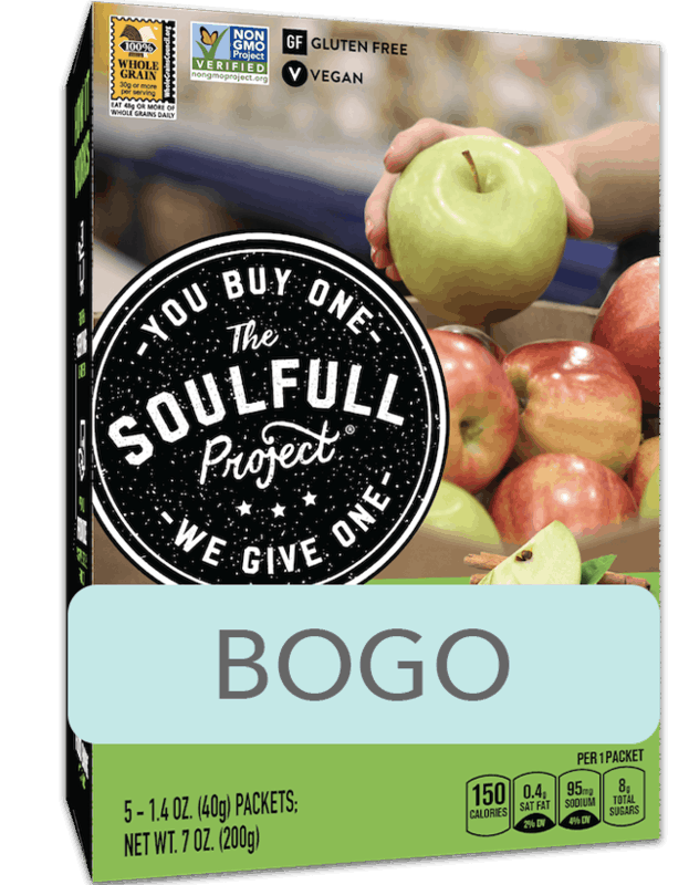 $4.29 for The Soulfull Project® Hot Cereal (expiring on Tuesday, 04/21/2020). Offer available at Whole Foods Market®.