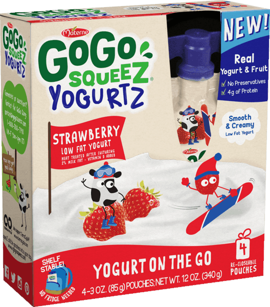 $0.50 for GoGo squeeZ® YogurtZ (expiring on Monday, 12/31/2018). Offer available at multiple stores.