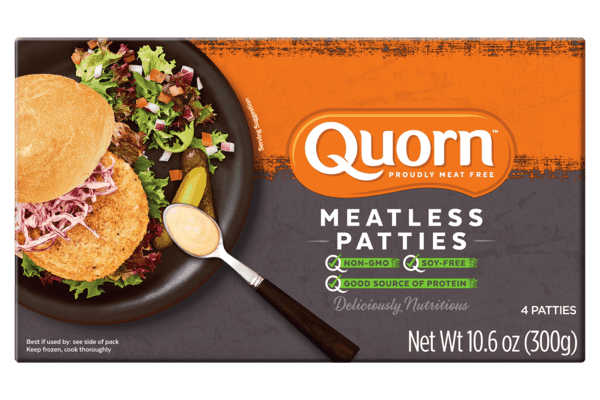 $2.50 for Quorn™ Meatless Patties. Offer available at Publix.